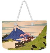 Spirit Of Ukiyo-e In The Light Of Shinto Weekender Tote Bag