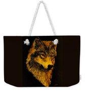 Spirit Wolf Weekender Tote Bag