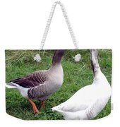 Spirited Geese Weekender Tote Bag