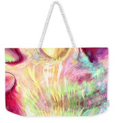 Spirits Of The Sun Weekender Tote Bag by Linda Sannuti