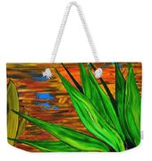 Spiritual Beingness Of Plants And Theta Weekender Tote Bag