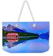 Spiritual Lake Weekender Tote Bag