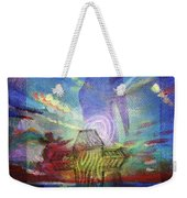 Spiritual Rising At Sunset Weekender Tote Bag