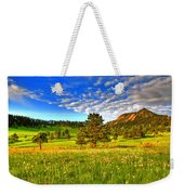 Spiritual Sky Weekender Tote Bag by Scott Mahon