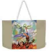 Spiritual Warfare Of Heart And Mind Weekender Tote Bag