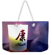 Spirit Of Health Weekender Tote Bag