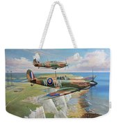 Spitfire And Hurricane 1940 Weekender Tote Bag