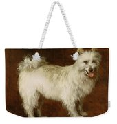Spitz Dog Weekender Tote Bag by Thomas Gainsborough