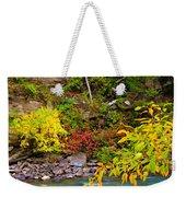 Splash Of Color Along The Creek Weekender Tote Bag
