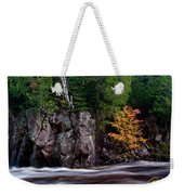 Splash Of Fall Color Weekender Tote Bag