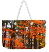 Splashes Of Autumn Weekender Tote Bag