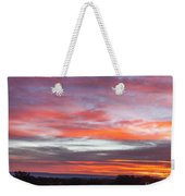 Splashes Of Color Weekender Tote Bag