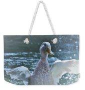 Splashing Duck Weekender Tote Bag