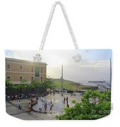 Splashing In Old San Juan Weekender Tote Bag