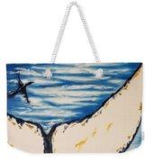 Ocean Tail Weekender Tote Bag