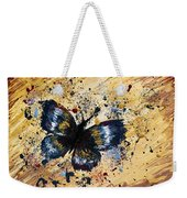 Splatter Butterfly Weekender Tote Bag