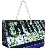 Splattered Keys Weekender Tote Bag