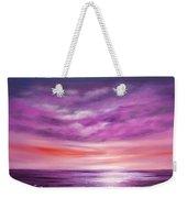 Splendid Purple Weekender Tote Bag