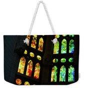 Splendid Stained Glass Windows Weekender Tote Bag