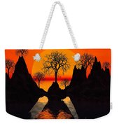 Splintered  Sunlight Weekender Tote Bag