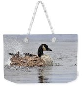 Splish Splash - Canada Goose Weekender Tote Bag