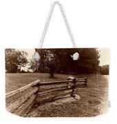 Split Rail Fence Weekender Tote Bag