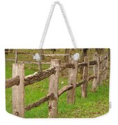 Split Rail Fence Weekender Tote Bag