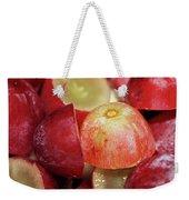 Split Red Grapes Weekender Tote Bag