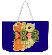 Split Reflections Weekender Tote Bag
