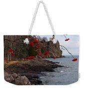 Split Rock Berries Weekender Tote Bag