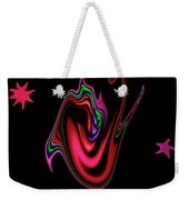 Split Tongue Weekender Tote Bag