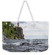 Splitrock Lighthouse 8-4-17 Weekender Tote Bag