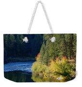 Spokane Rivereflections Weekender Tote Bag