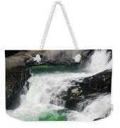 Spokane Water Fall Weekender Tote Bag