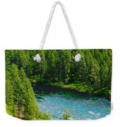 Spokane...the River And The City Weekender Tote Bag