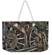 Spokes Of The Past Weekender Tote Bag