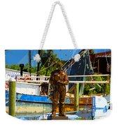Sponge Diver Weekender Tote Bag