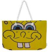 Sponge Square Yellow Brown Pants Cartoon Weekender Tote Bag