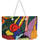 Spontaneous Flow Contemporary Art No.3 Weekender Tote Bag
