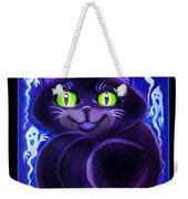 Spooky Cat Weekender Tote Bag