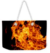 Spooky Hot Spirit Fire Michigan Weekender Tote Bag