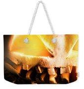 Spooky Jack-o-lantern In Darkness Weekender Tote Bag