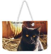 Spooky Quote Weekender Tote Bag