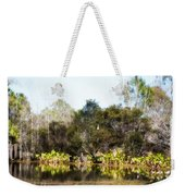 Spoon Bill Swamp Weekender Tote Bag