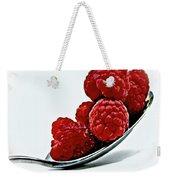 Spoonful Of Raspberries Weekender Tote Bag