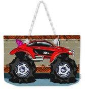 Sports Car Monster Truck Weekender Tote Bag