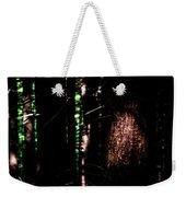 Spotlight In The Woods Weekender Tote Bag