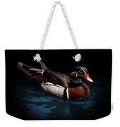 Spotlight On A Wood Duck Weekender Tote Bag