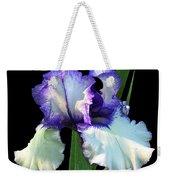 Spotlight On 'freedom Song' Bearded Iris Weekender Tote Bag