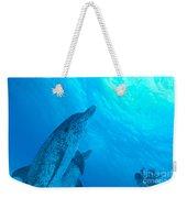 Spotted Dolphins Weekender Tote Bag